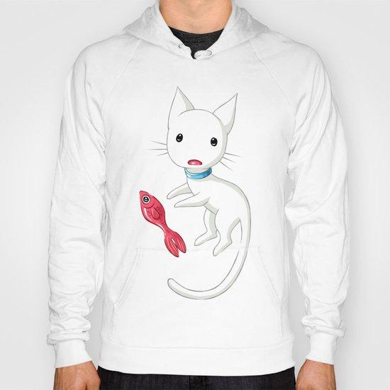 Cat and Fish Hoody