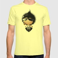 Mr. Zhong Mens Fitted Tee Lemon SMALL