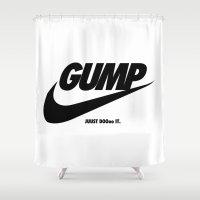 Gump Just Do It Shower Curtain