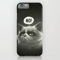iPhone & iPod Case featuring Grumpy I. by Dr. Lukas Brezak