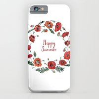 iPhone & iPod Case featuring Happy Summer by Yuliya