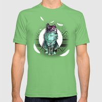 Edison Mens Fitted Tee Grass SMALL
