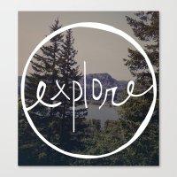 Explore Oregon Canvas Print