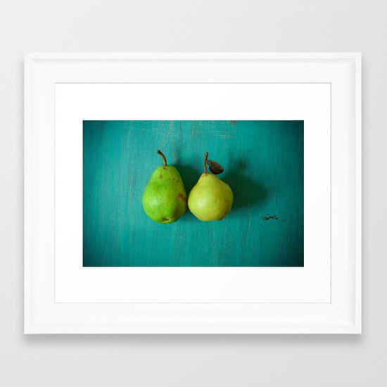 Cute Couple Framed Art Print