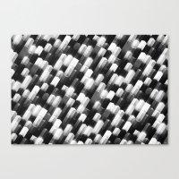 we gemmin (monochrome series) Canvas Print