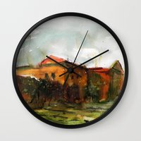 Who Is In The House Of M… Wall Clock