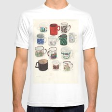 Cups Mens Fitted Tee White SMALL