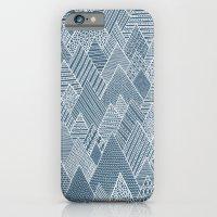 iPhone & iPod Case featuring Mountain Pattern by Anita Ivancenko