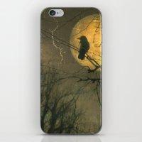 Autumn Moon iPhone & iPod Skin