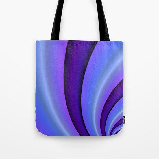 Purple Twist Tote Bag