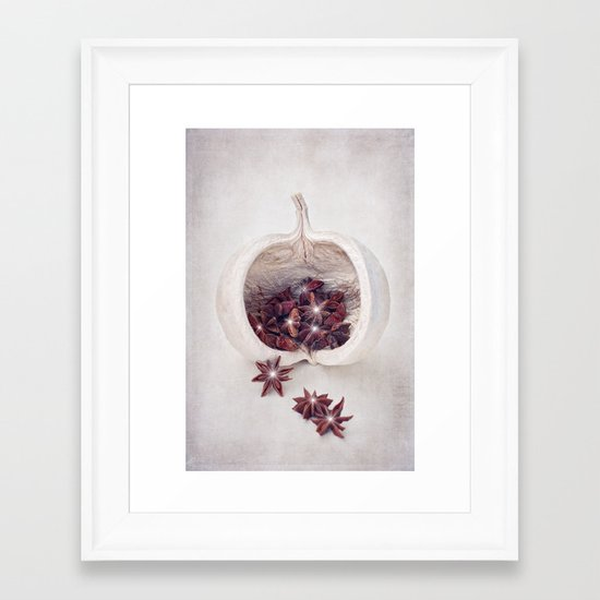 WINTER SECRETS Framed Art Print