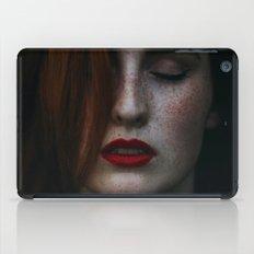 Dark freckle iPad Case