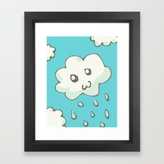 Rain Cloud Framed Art Print