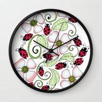 Don't Bug Me Wall Clock
