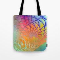 Web Of The Universe (rai… Tote Bag