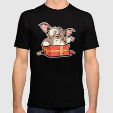 Gizmo Gift Mens Fitted Tee SMALL Black