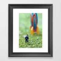 Rocket Man Framed Art Print