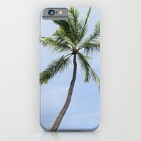 Solitary palm tree iPhone 6 Slim Case
