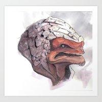 Grunt - ME2 Art Print