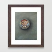 Bill Murray / Steve Zissou / Wes Anderson  Framed Art Print