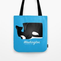 The Washington Whale Tote Bag