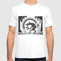 Somewhere Under The Gray… Mens Fitted Tee White SMALL