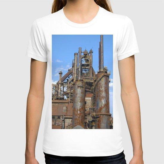 Bethlehem Steel Blast Furnace 3 T-shirt