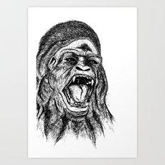 UnMonoLoco. Art Print