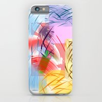 Stripes N Lines  iPhone 6 Slim Case