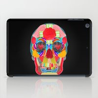 Sweet Sweet Sugar Skull On Black iPad Case
