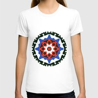 Bold and bright beauty of suzani patterns ver.7 Womens Fitted Tee White SMALL