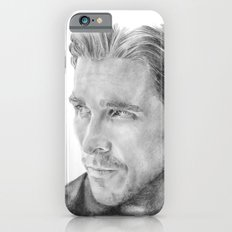 Christian Bale Traditional Portrait Print iPhone 6s Slim Case