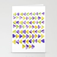 Triangle Relationship (I… Stationery Cards