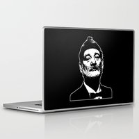 bill murray Laptop & iPad Skins featuring Bill Murray Special Edition  by Spyck