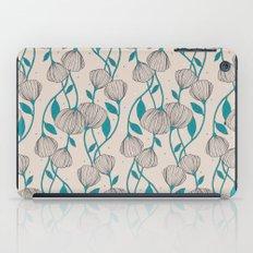 Blue Stem Flowers iPad Case