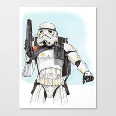 Sandtrooper Canvas Print