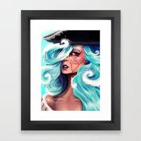 Marée Framed Art Print
