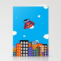 Pengwin That Is Super Stationery Cards