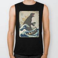 The Great Godzilla Off K… Biker Tank