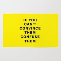 If You Can't Convince Th… Rug