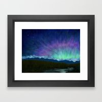 Arctic Aura - Painting Framed Art Print