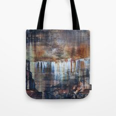Pictured Rocks Collage Tote Bag