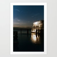 Film Burlington Reflecti… Art Print