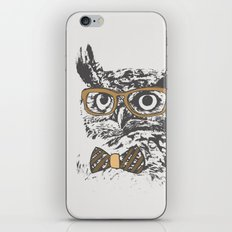 Hipsters are a Hoot iPhone & iPod Skin