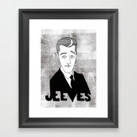 Jeeves Framed Art Print