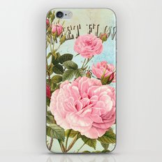 Vintage Flowers #2 iPhone & iPod Skin