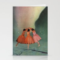 Dance Of The Northern Li… Stationery Cards