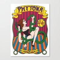 Phytona Canvas Print