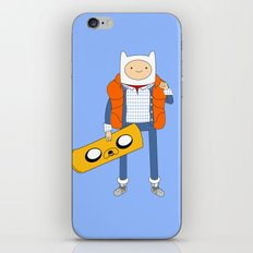 Marty McFinn & Jake the Hoverboard iPhone & iPod Skin