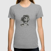 El Baron Womens Fitted Tee Athletic Grey SMALL